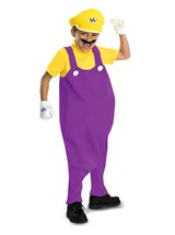 Click Here to buy Super Mario Bros. - Wario Deluxe Toddler & Kids Co from BuyCostumes