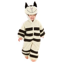Corduroy Striped Cat Toddler Costume