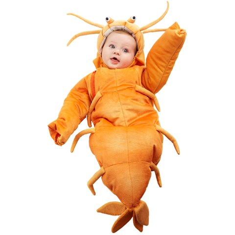 Shrimp Bunting Infant Costume