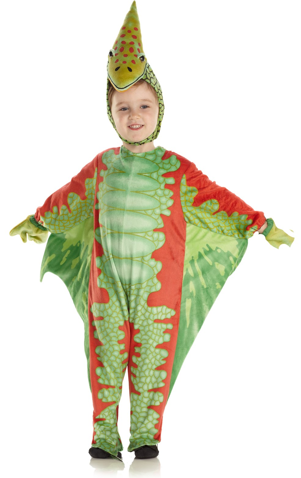 Image of Red Pterodactyl Infant / Toddler Costume