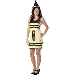 Crayola Gold Crayon Teen Costume