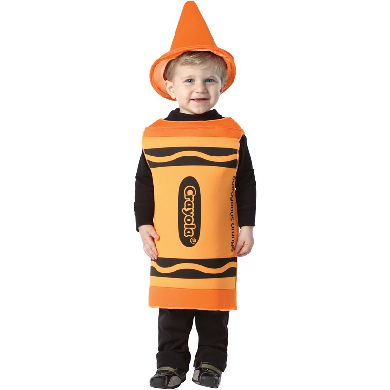 Crayola Outrageous Orange Crayon Toddler Costume for the 2015 Costume season.