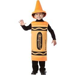 Crayola Outrageous Orange Crayon Child Costume