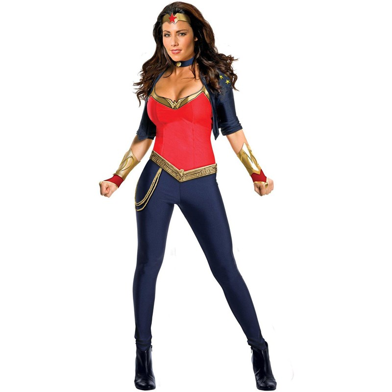 Wonder Woman Deluxe Adult Costume for the 2015 Costume season.