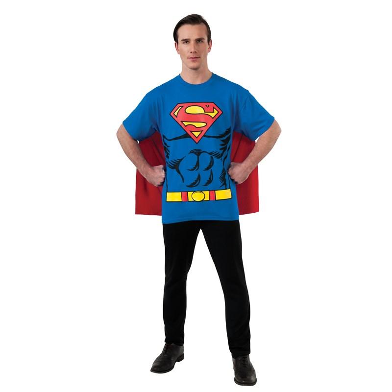 Superman T Shirt Adult Costume Kit for the 2015 Costume season.