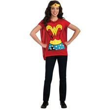 Wonder Woman T-Shirt Adult Costume I Kit