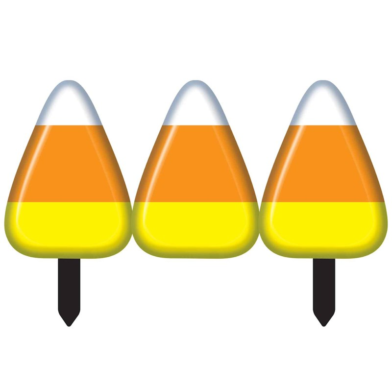 Candy Corn Fence (2 sections) for the 2015 Costume season.