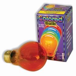 Orange Light Bulb (25 watt)