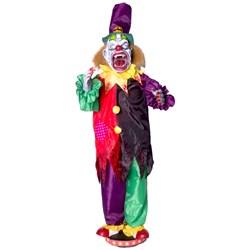 Walking Clown With Teeth Animated Prop