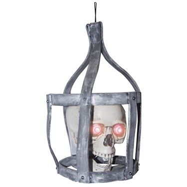 Hanging Sonic Skull in Cage