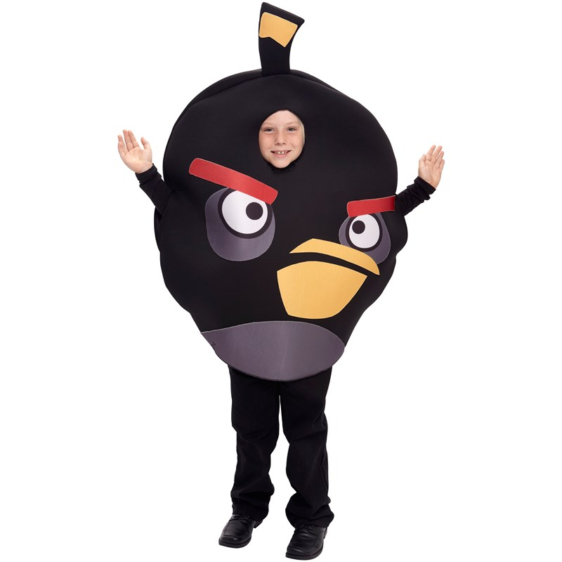 Rovio Angry Birds   Black Bird Child Costume for the 2015 Costume season.