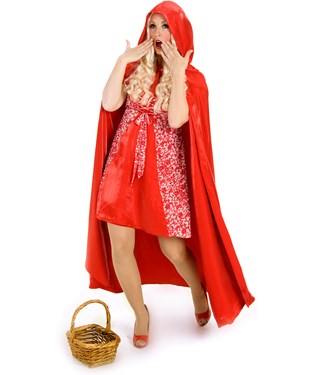 Princess Red Riding Hood Adult Costume