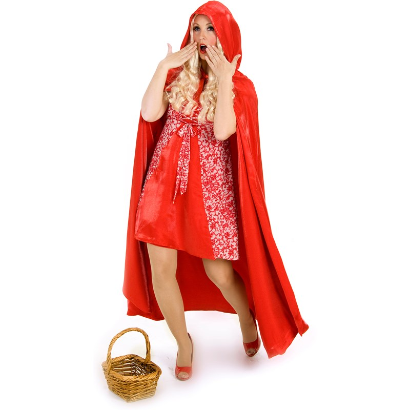 Princess Red Riding Hood Cape (Adult) for the 2015 Costume season.