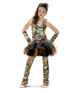 Graffiti Girl Tween Costume