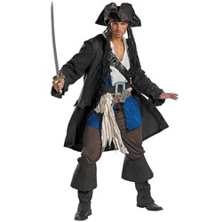 Pirates of the Caribbean - Captain Jack Sparrow Prestige Teen Costume