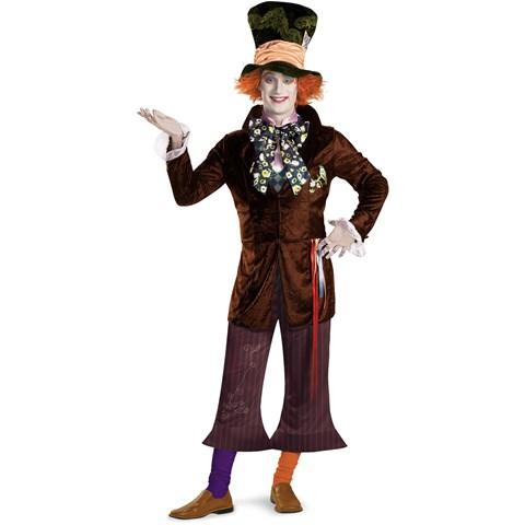 Alice In Wonderland Movie - Prestige Mad Hatter Teen Costume