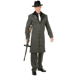 Gangster Suit Long Jacket Teen Costume