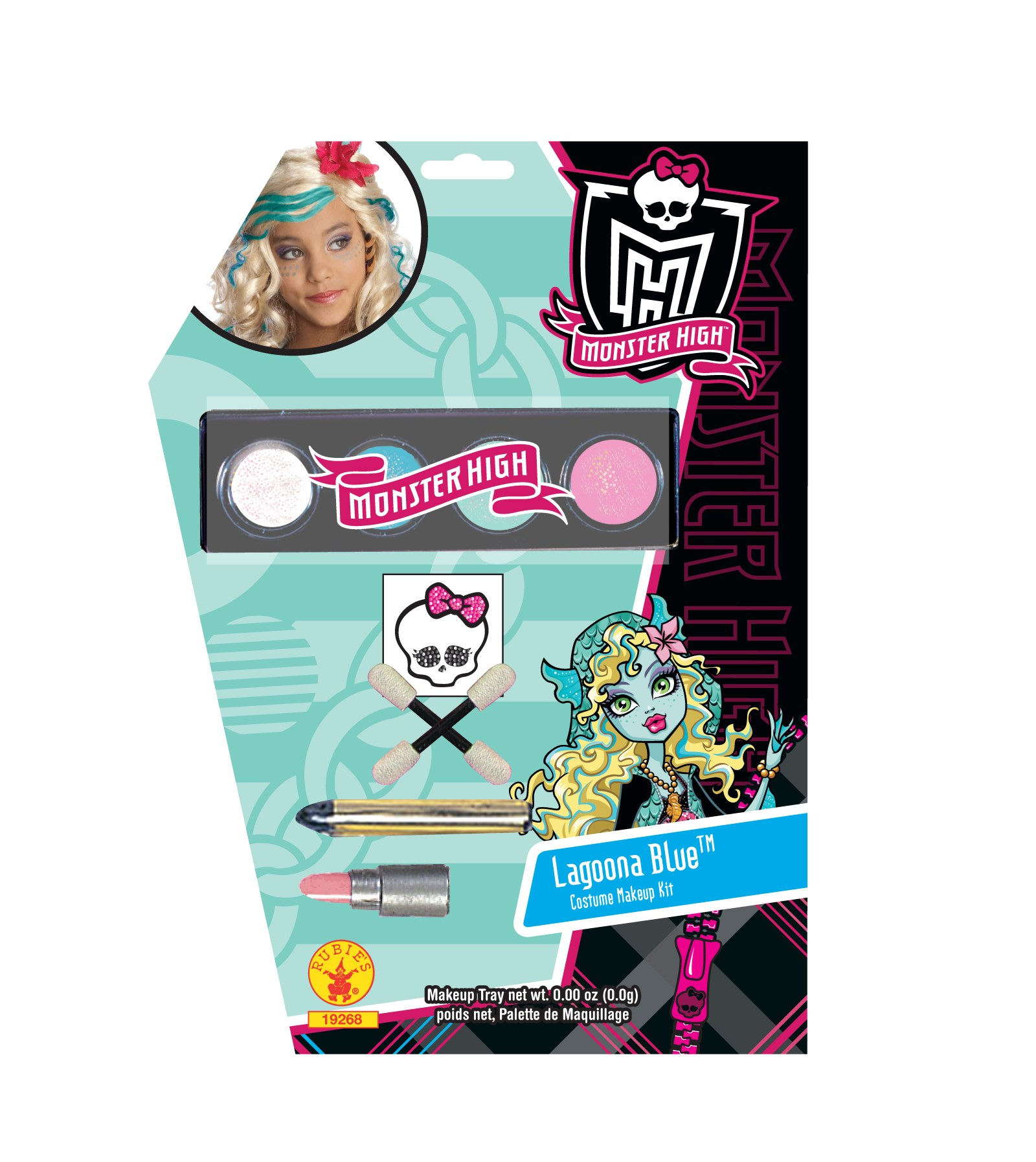 Monster High - Lagoona Blue Makeup Kit (Child)