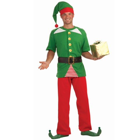 Jolly Elf Adult Costume