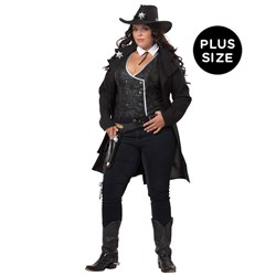 Round 'Em Up Adult Plus Costume
