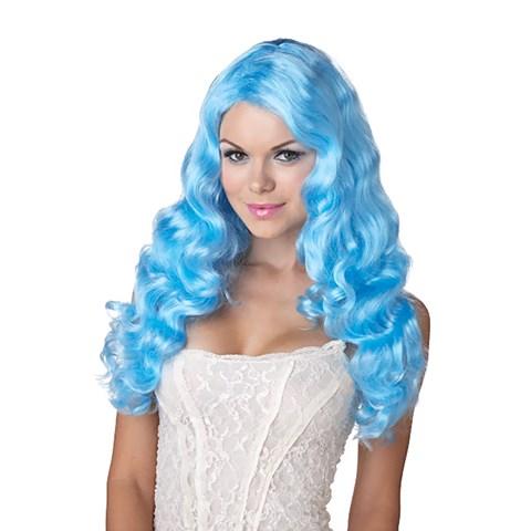 Sweet Tart (Blue) Adult Wig