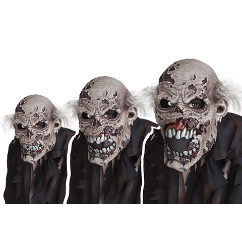 Zombie Ani-Motion Adult Mask