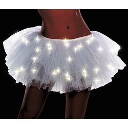 Light Up White Adult Tutu