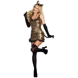 Cat Walk Kitty Adult Costume