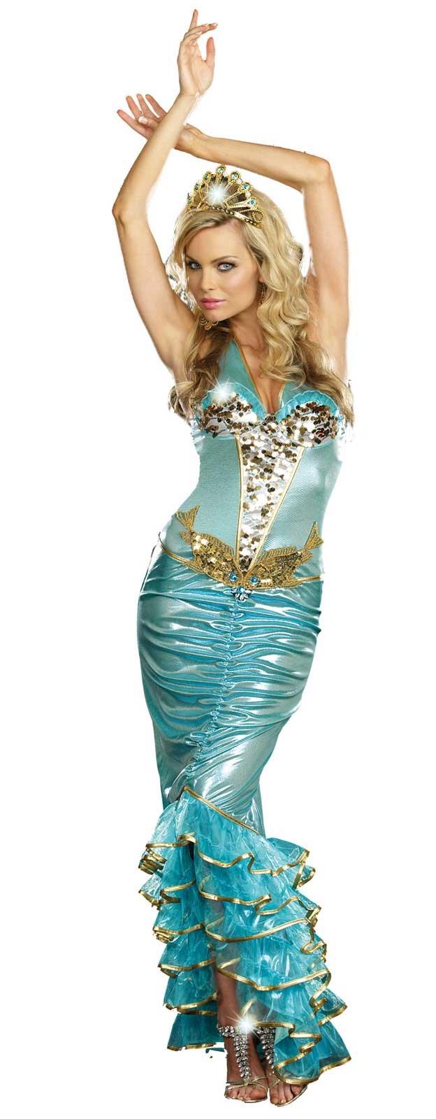 Sea Queen Adult Costume