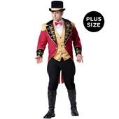Ringmaster Adult Plus Costume