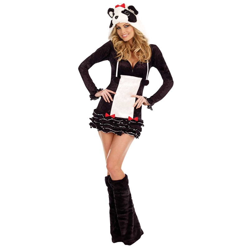 Pandalicious Adult Costume for the 2015 Costume season.