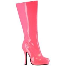 Neon Fuchsia Adult Boots