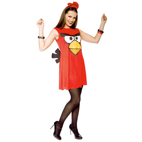 Rovio Angry Birds Sassy Red Bird Adult Costume