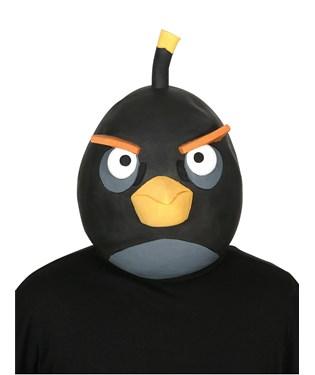 Rovio Angry Birds Black Bird Latex Mask Adult
