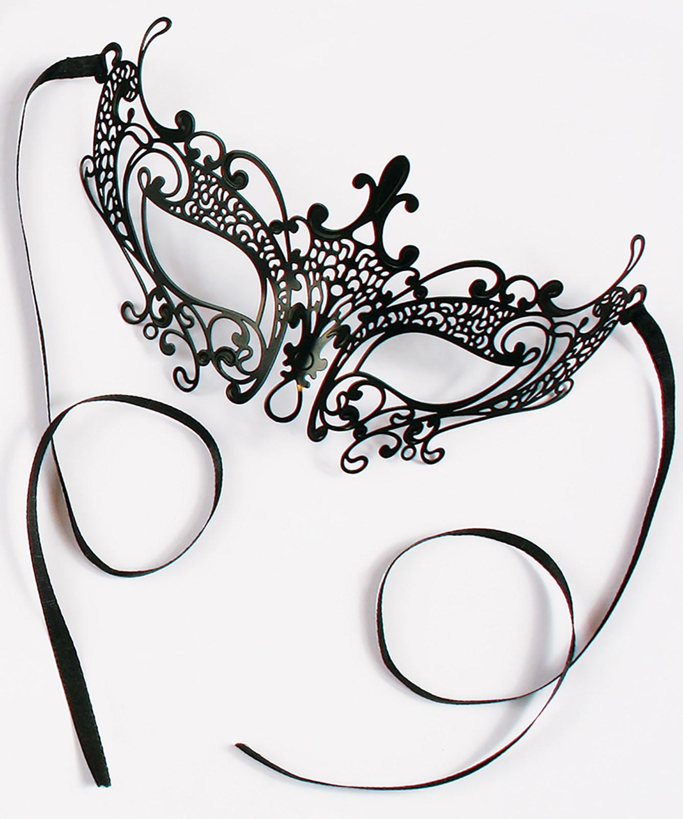 Black Gothic Eye Mask