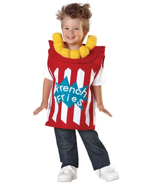 French Fries Toddler Costume