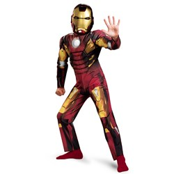 The Avengers Iron Man Mark VII Classic Muscle Chest Toddler Costume