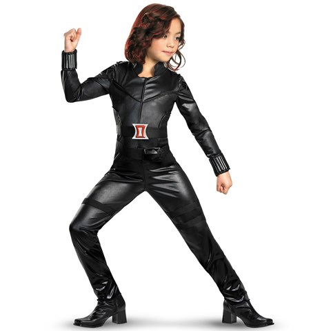 The Avengers Black Widow Deluxe Child Costume