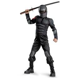G.I. Joe Retaliation Snake Eyes Classic Muscle Chest Child Costume
