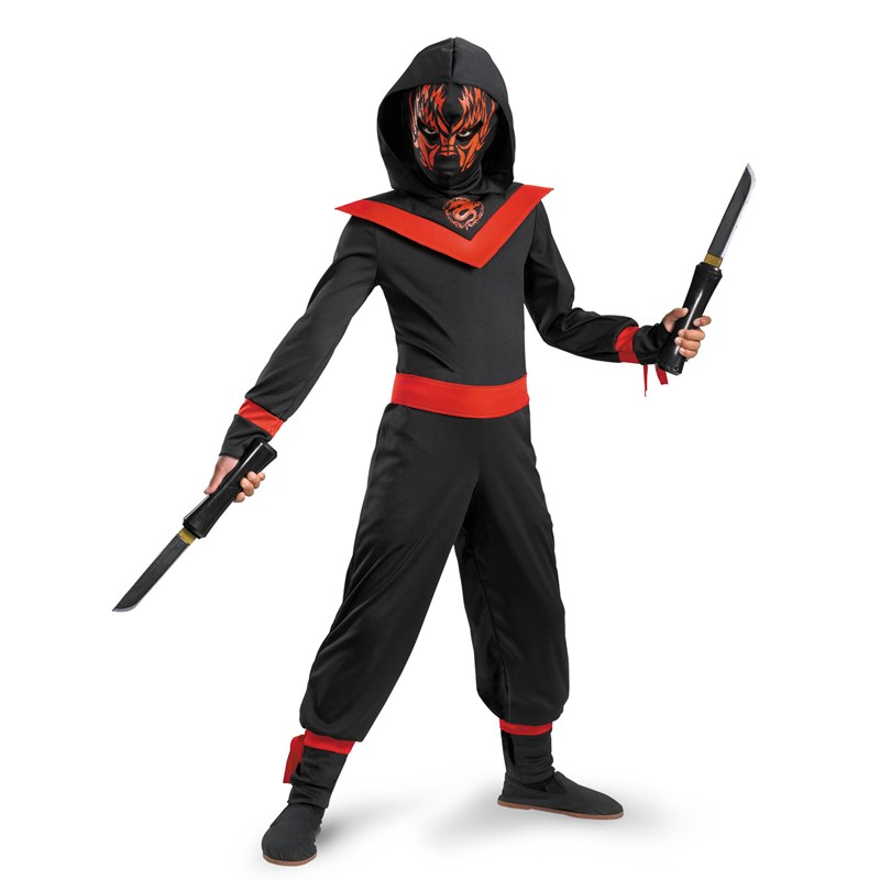 Neon Ninja Child Costume for the 2015 Costume season.