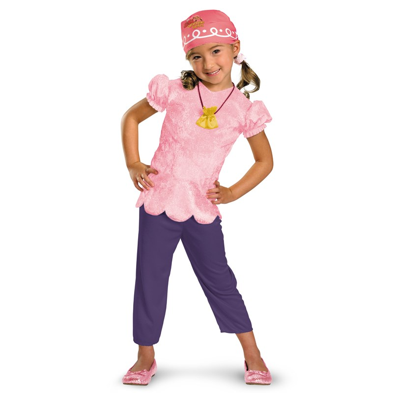 Disney Jake and the Never Land Pirates Izzy Classic Toddler Costume for the 2015 Costume season.