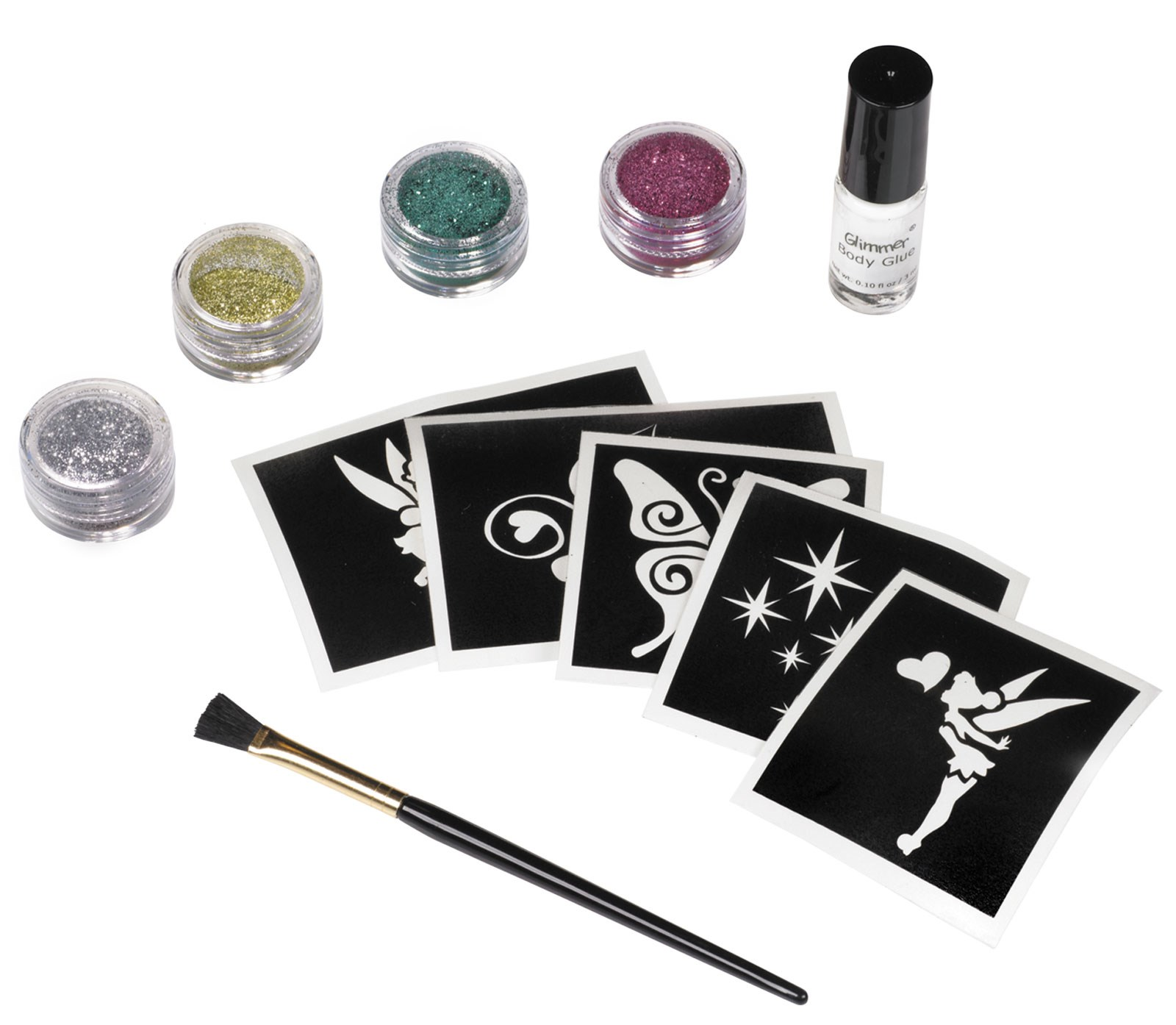 Disney Fairies Tinker Bell Glitter Tattoo Kit