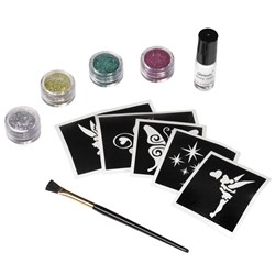 Disney Fairies Tinkerbell Glitter Tattoo Kit