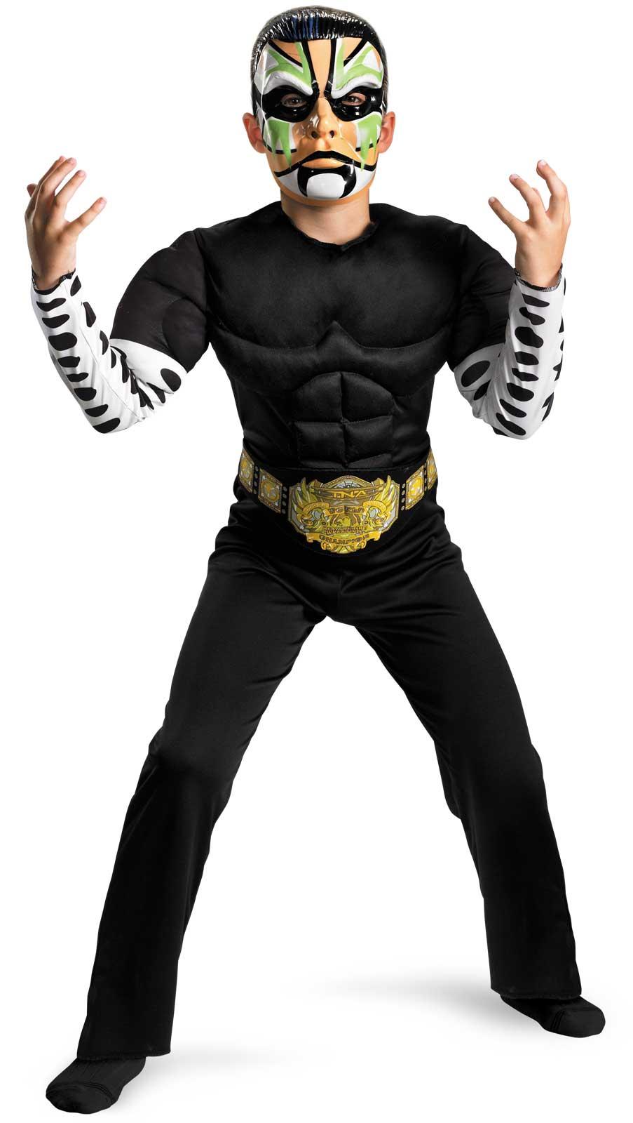 f690308c231 Disguise TNA Impact Wrestling Jeff Hardy Child Halloween Costume on ...