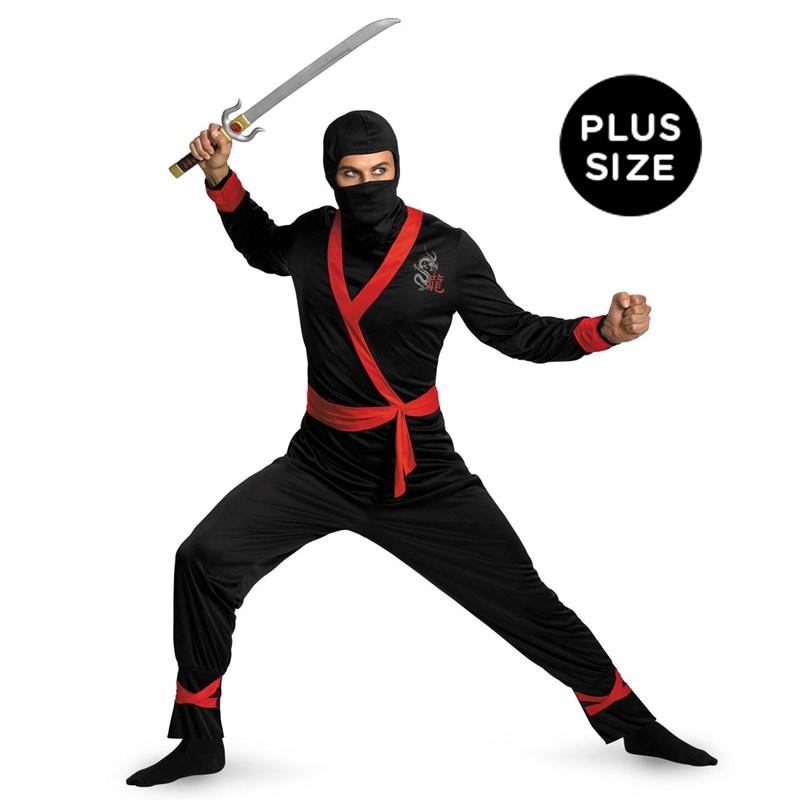 Ninja Master Adult Plus Costume for the 2015 Costume season.
