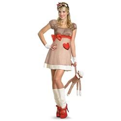 Ms. Sock Monkey Deluxe Adult Costume