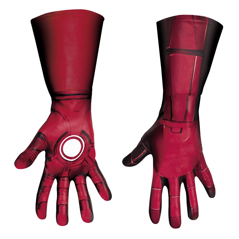 The Avengers Iron Man Mark VII Deluxe Gloves (Adult) for the 2015 Costume season.