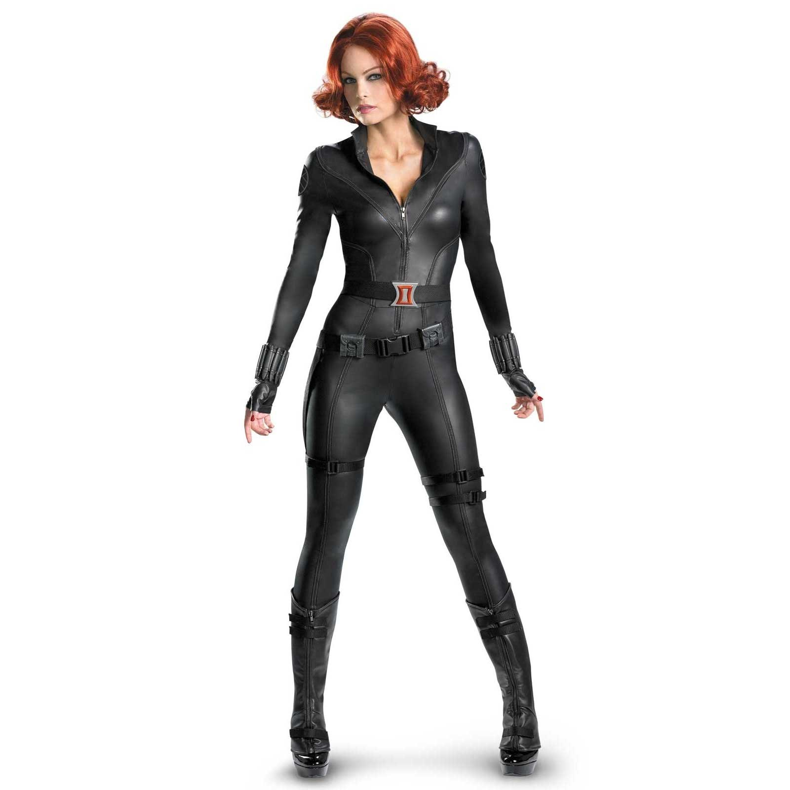 The Avengers Black Widow Elite Plus Adult Costume