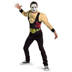 TNA Impact Wrestling Sting Muscle Adult Costume