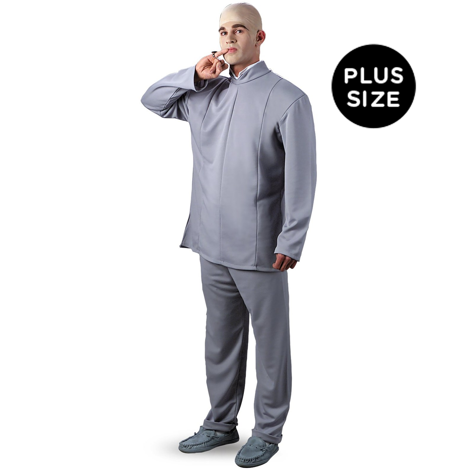 Image of Austin Powers Dr. Evil Deluxe Plus Adult Costume